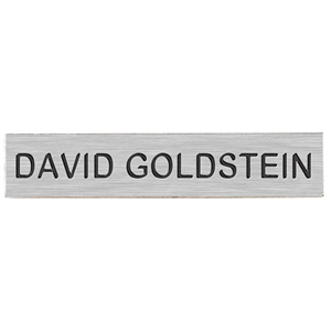 "Blackinton J1 Name Plate, 2-½"" x ½"""